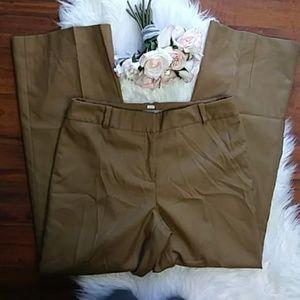 Ann Taylor Petites Brown Trouser Pants